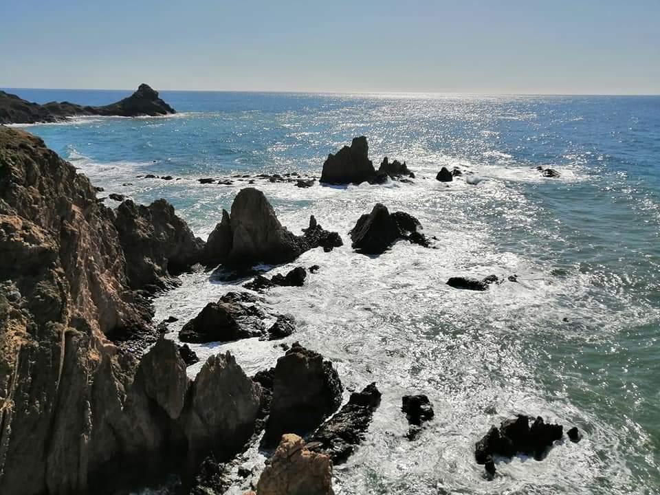 Spain Andalucia, Cabo de Gata, Mirador de las Sirenas ( Faro de Cabo de Gata) , Walkopedia