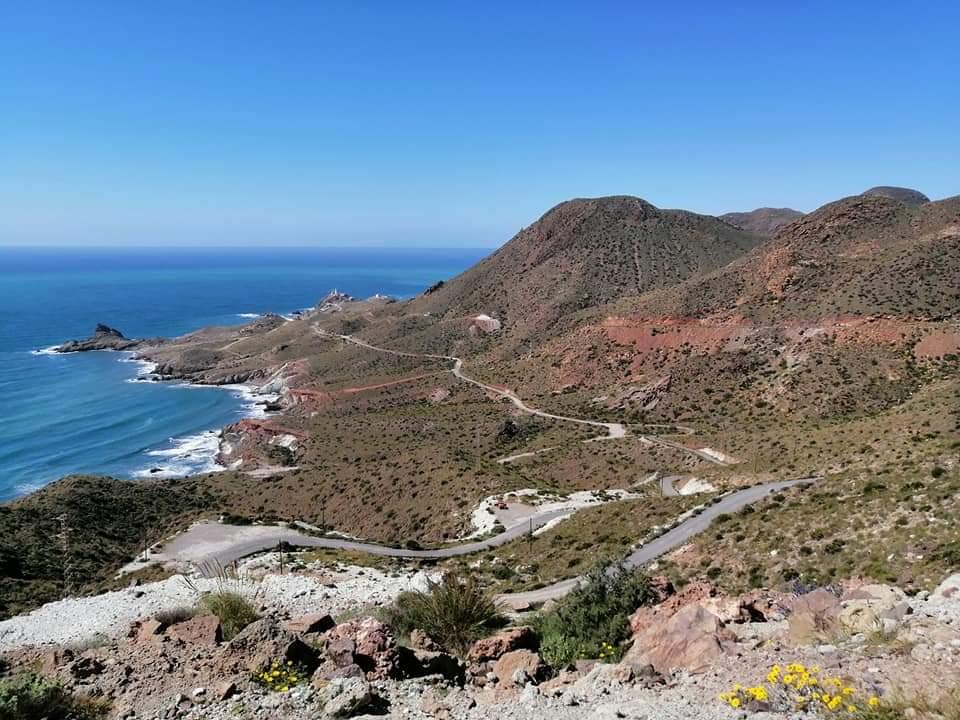 Spain Andalucia, Cabo de Gata, Mirador Vela Blanca, Walkopedia