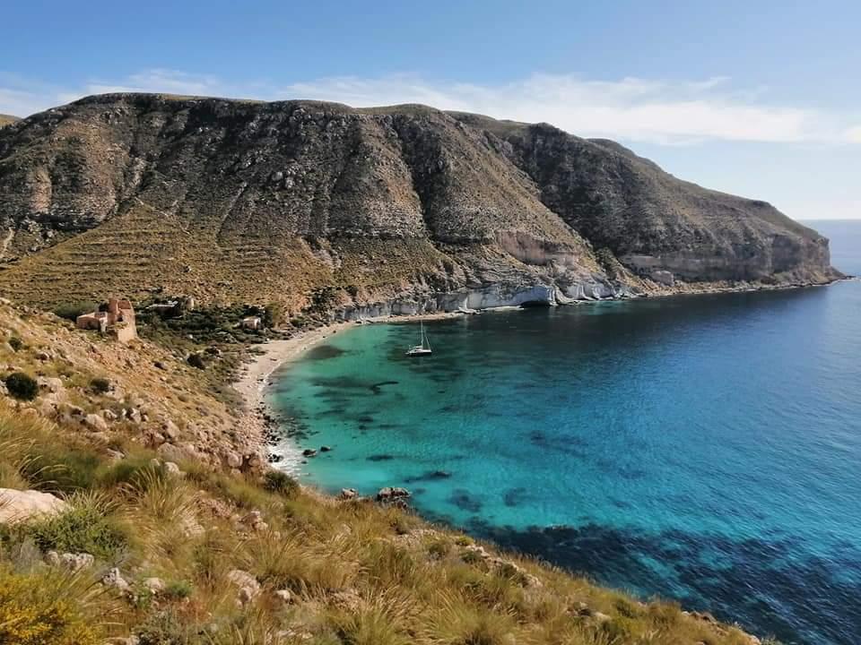 Spain Andalucia, Cabo de Gata, Cala San Pedro in Las Negras, Walkopedia
