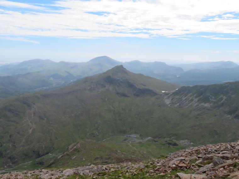 United Kingdom Wales Snowdonia, Y Lliwedd, From LLiwedd, Walkopedia