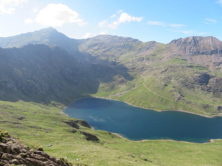 United Kingdom Wales Snowdonia, Y Lliwedd, , Walkopedia