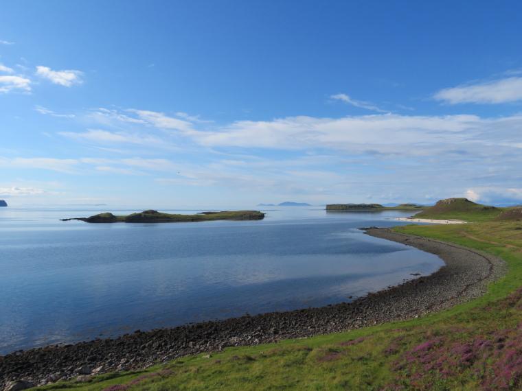 United Kingdom Scotland Isles Skye, Isle of Skye, Coral Beach, Walkopedia