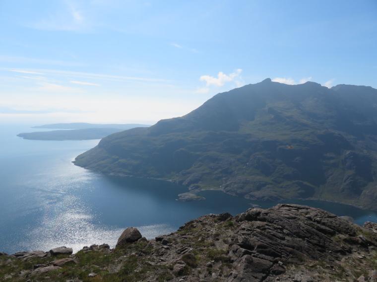 United Kingdom Scotland Isles Skye, Isle of Skye, Loch Scavaig  and Black Cuillin, Walkopedia