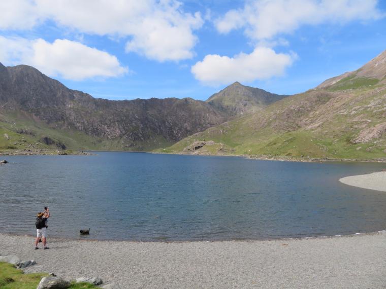 United Kingdom Wales Snowdonia, Miners, Pyg Tracks , Miners Track, LLyn Lllydaw, Walkopedia