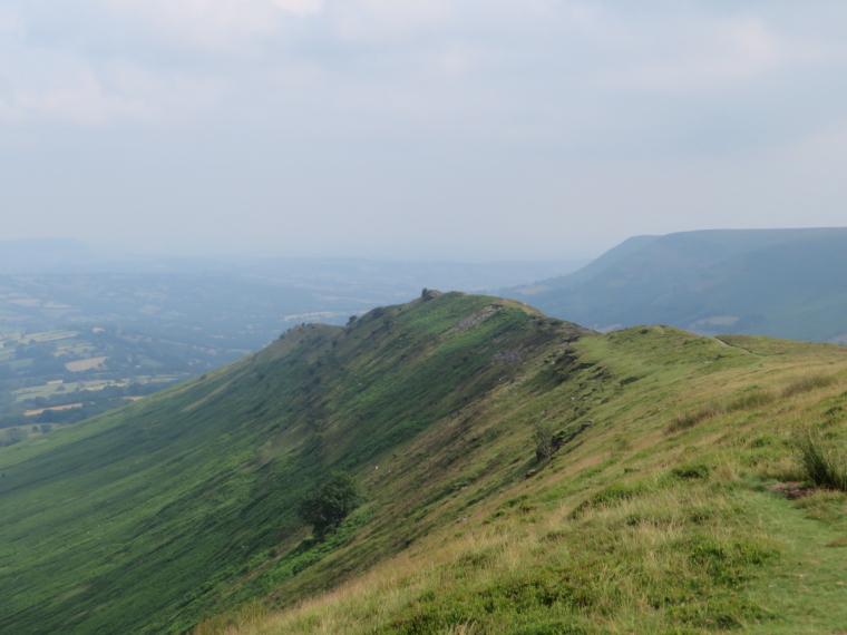 United Kingdom Wales Black Mountains, Black Hill Ridge, Down Black Hill ridge, Walkopedia
