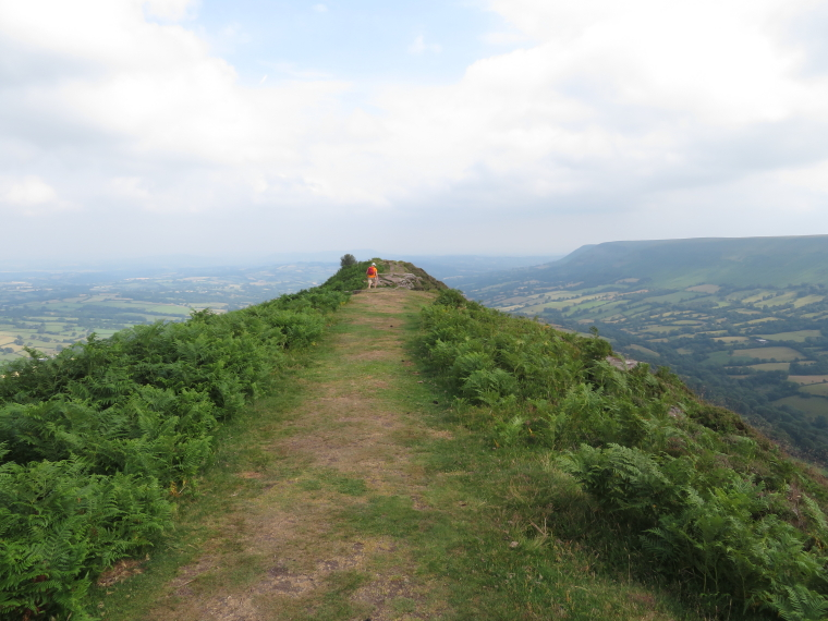 United Kingdom Wales Black Mountains, Black Hill Ridge, Along Black Hill ridge, Walkopedia