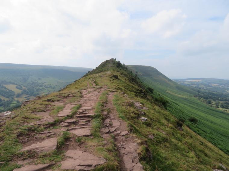 United Kingdom Wales Black Mountains, Black Hill Ridge, Back up Black Hill ridge, Walkopedia