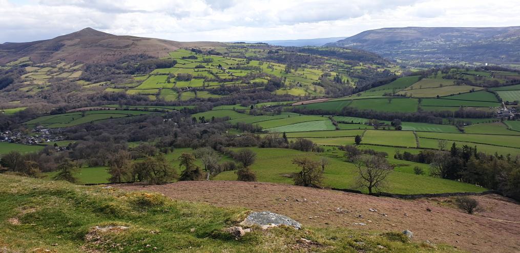 United Kingdom Wales Black Mountains, Crug Hywel, , Walkopedia