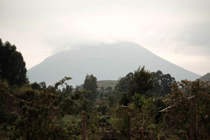 Rwanda, Virunga Mountains, Mt Muhabura, Walkopedia