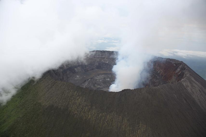 Rwanda, Virunga Mountains, Volcano Nyiragongo, Walkopedia