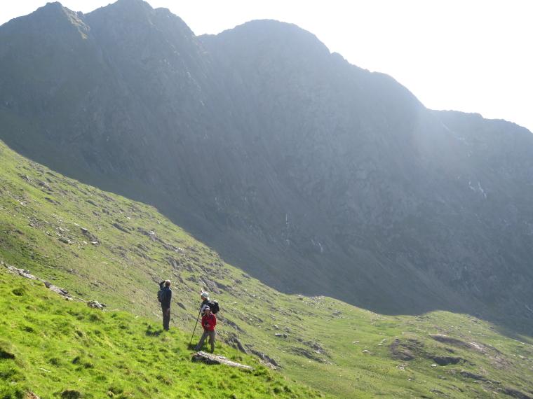 United Kingdom Wales Snowdonia, Snowdon Horseshoe, from LLiwedd descent, Walkopedia