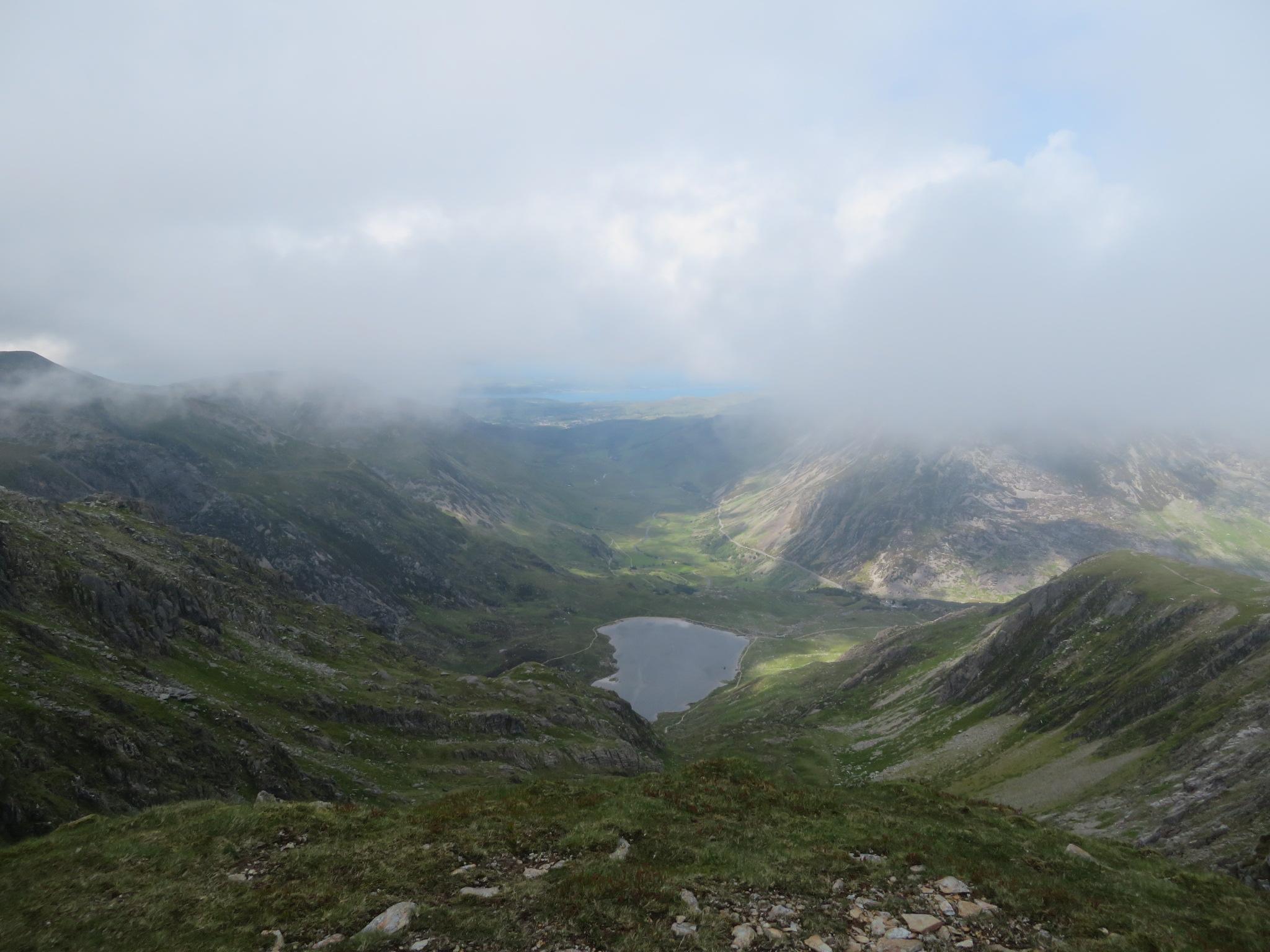 United Kingdom Wales Snowdonia, Glyderau from Pen-y-Pass, , Walkopedia