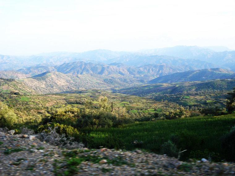 Rif Mountains - © wiki user Sabertooth