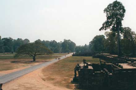 Angkor, old centre, old picture now (1991)  - © William Mackesy