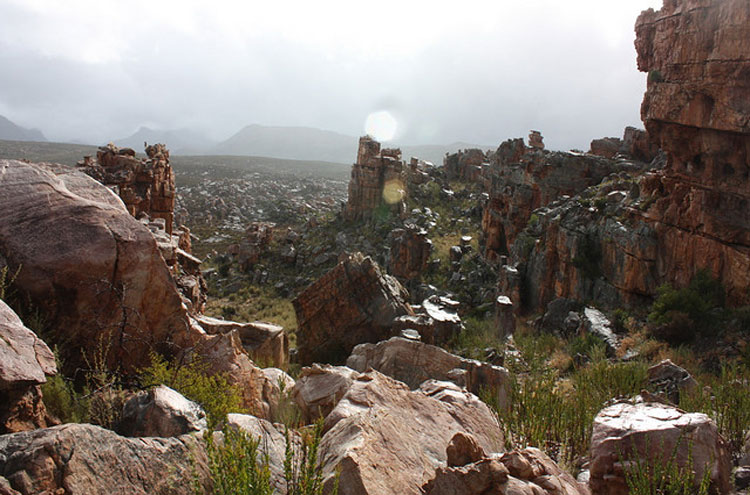 Cederberg Rock Formations - ©By Flickr user raramuridesign...
