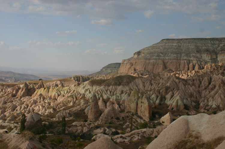 Cappadocia: Above Rose Valley, late afternoon - © William Mackesy