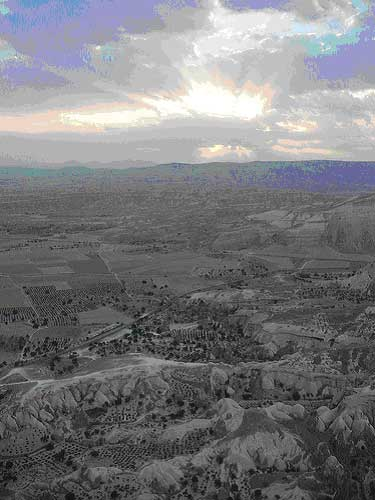 Turkey Central Anatolia Cappadocia, Cappadocia, Sunrise Over Cappadocia, Walkopedia