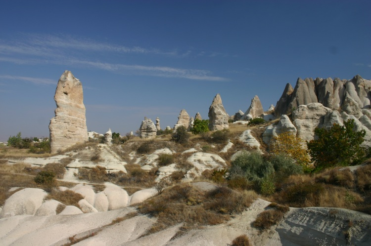 Cappadocia: Path above Zemi valley - © William Mackesy