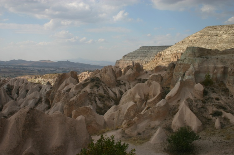 Cappadocia: Rose valley - along White Hill - © William Mackesy
