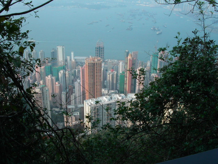 China Hong Kong, The Peak, Lugard Road , Walkopedia