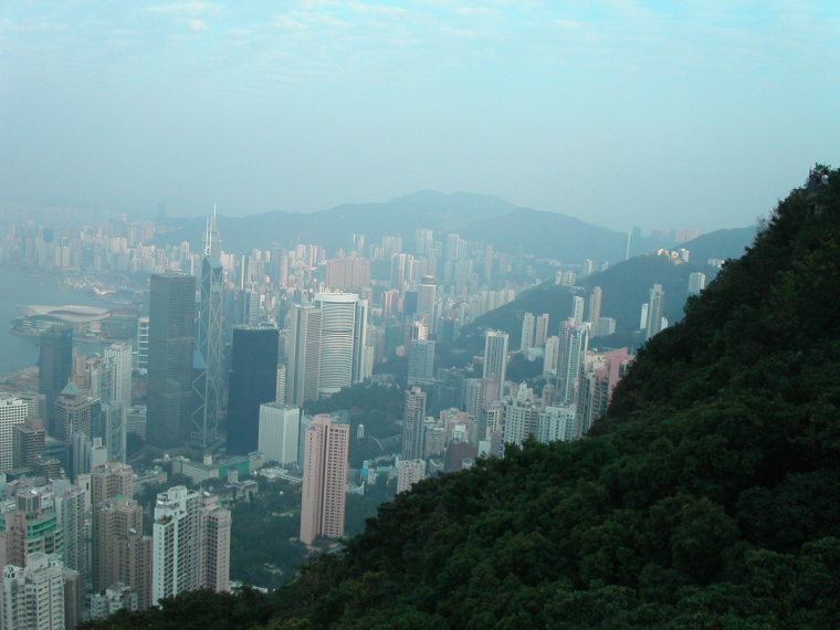 China Hong Kong, The Peak, Toward Happy Valley, Walkopedia