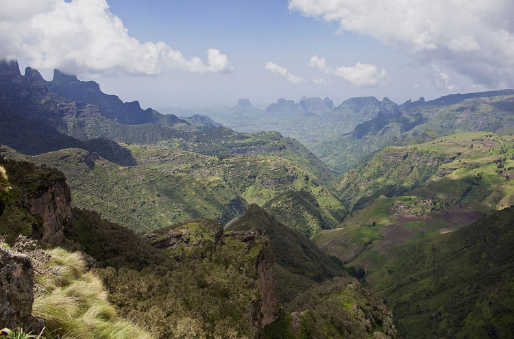 Simien Mountains views From Chennek - © From Flickr user Hulivili