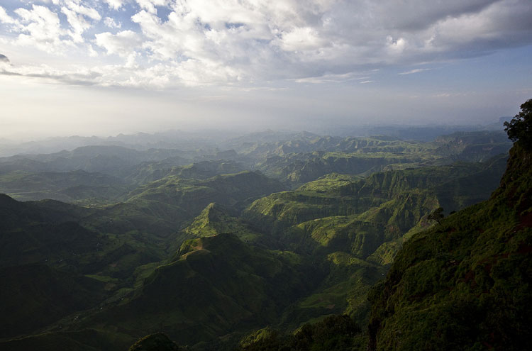 Sunset on the Simien Mountains - © From Flickr user Hulivili