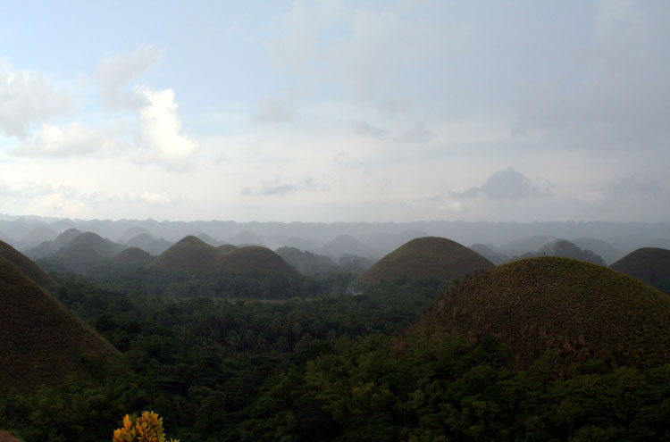 Chocolate Hills - © By Flickr user CassiG