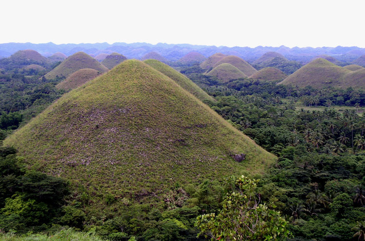 Chocolate Hills - © By Flickr user YoTuT