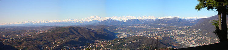 Monte Rosa Panorama - © From Flickr user StancaAppenaSveglia