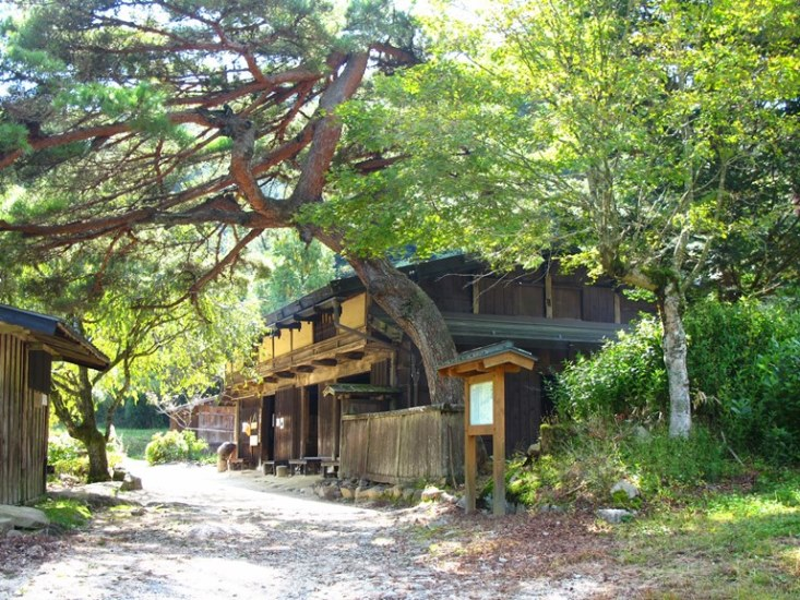 Nakasendo Way: Tea house near O-Tsumago, Kiso Valley - © Walk Japan