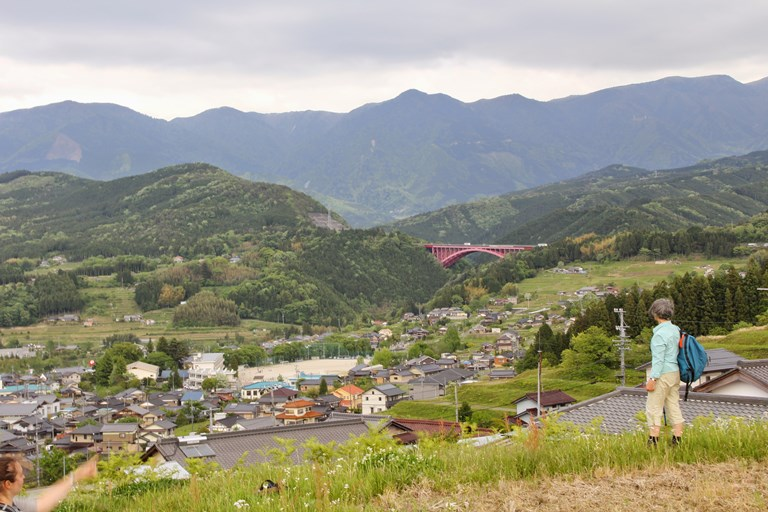 View over Kiso Valley - © Walk Japan
