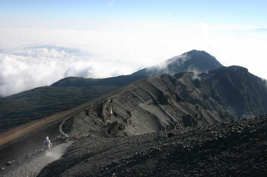 Mt Meru: Upper rim - © William Mackesy