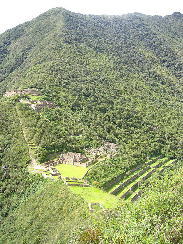 The main structures of Choquequirao - © From Flickr user Bryand_nyc