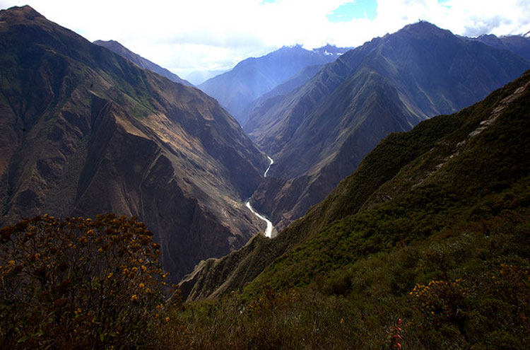 Apurimac River From Choquequirao - © from Flickr user Roubicek