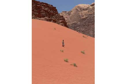 Wadi Rum -  - © By Flickr user eviljohnius