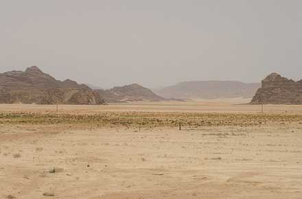 Wadi Rum -  - © By Flickr user Argenberg