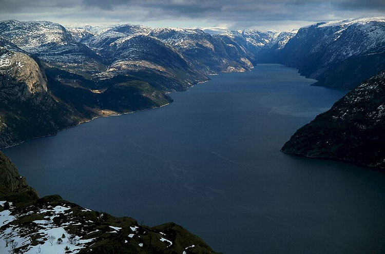 Preikestolen - © From Flickr user Anna Bialkowska