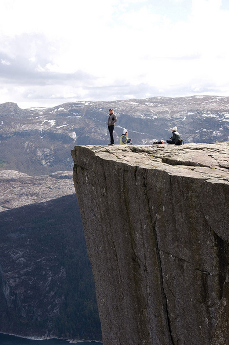 Preikestolen - © From Flickr user L.C.Nottaasen