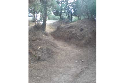Gallipoli - Trenches - © Alice Rawstorne