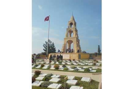 Gallipoli - Turkish cemetery - © Alice Rawstorne