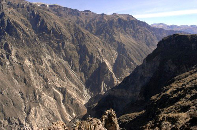 Colca Canyon - © From Flickr user Kudomomo