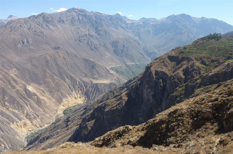 Colca Canyon - © From Flickr user Geoced