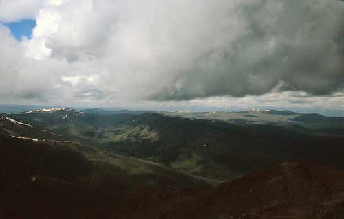 Mount Washburn - View From Mount Washburn - © By Flickr User Listen Missy!