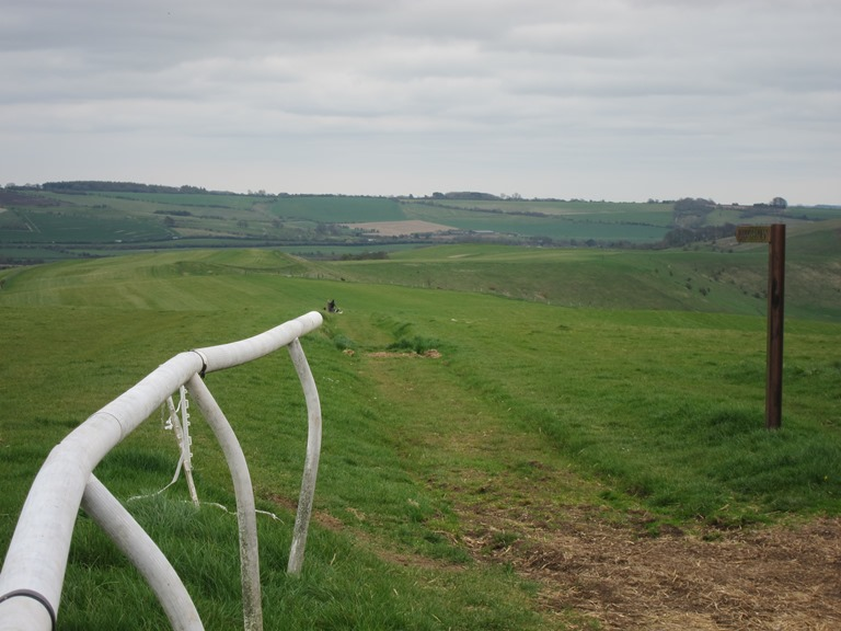 "The Ridgeway: Gallop, Smeath""s Ridge - © William Mackesy"
