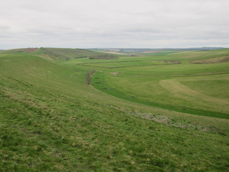 "The Ridgeway: Smeath""s Ridge looking South - © William Mackesy"
