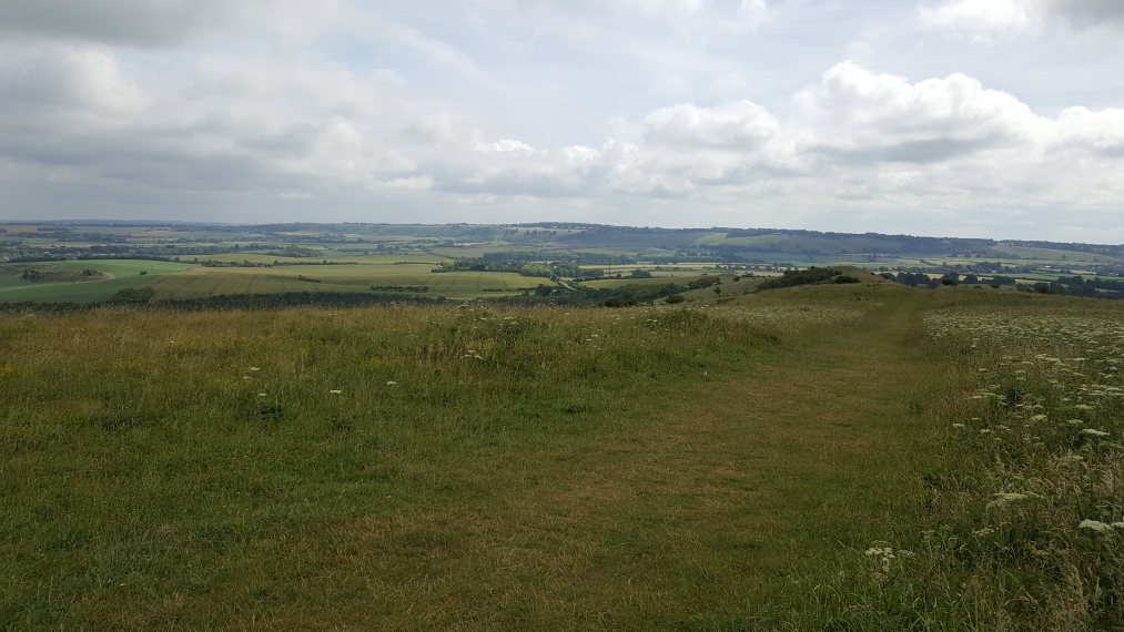 The Ridgeway: East from Ivinghoe Beacon - © William Mackesy