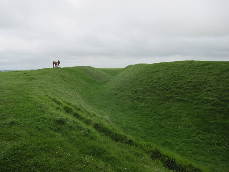 Uffington Castle - © William Mackesy