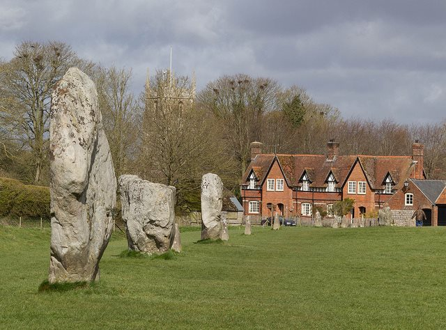 The Ridgeway: Avebury - © Copyright Flickr user barryskeates