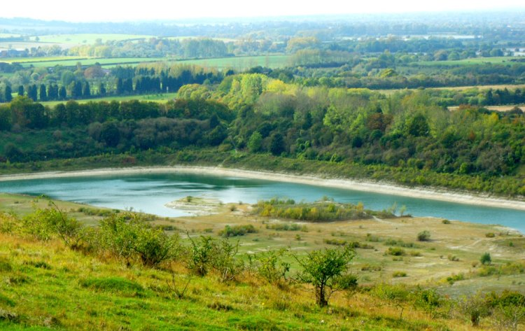 The Ridgeway: Chalk pit - © Copyright Flickr user staticgirl